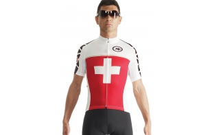 ASSOS Maillot manches courtes SUISSEFED EVO7 2015