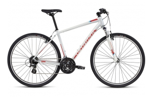 SPECIALIZED Crosstrail - WHITE / RED / CYAN