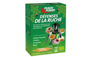 PUNCH POWER DEFENSE DE LA RUCHE BIO 20 AMPOULES