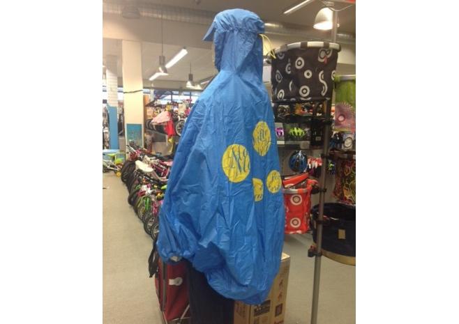 FULAP cape de pluie - poncho - bleu