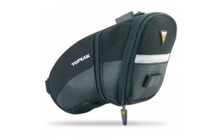 TOPEAK SACOCHE DE SELLE AERO WEDGE QUICKCLIP L
