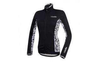 ZERO RH+ veste vélo femme CAMOU noire et blanche