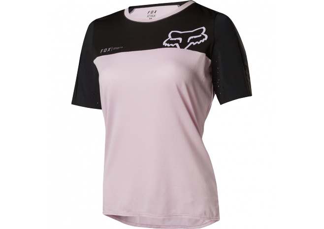 FOX MAILLOT MANCHES COURTES ATTACK FEMME 2018