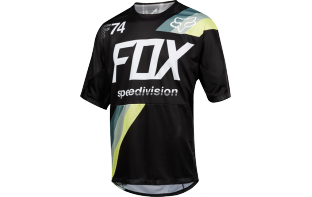 FOX MAILLOT MANCHES COURTES DEMO DRAFTER 2018