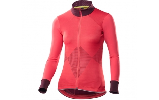 MAVIC maillot manches longues sequence femme