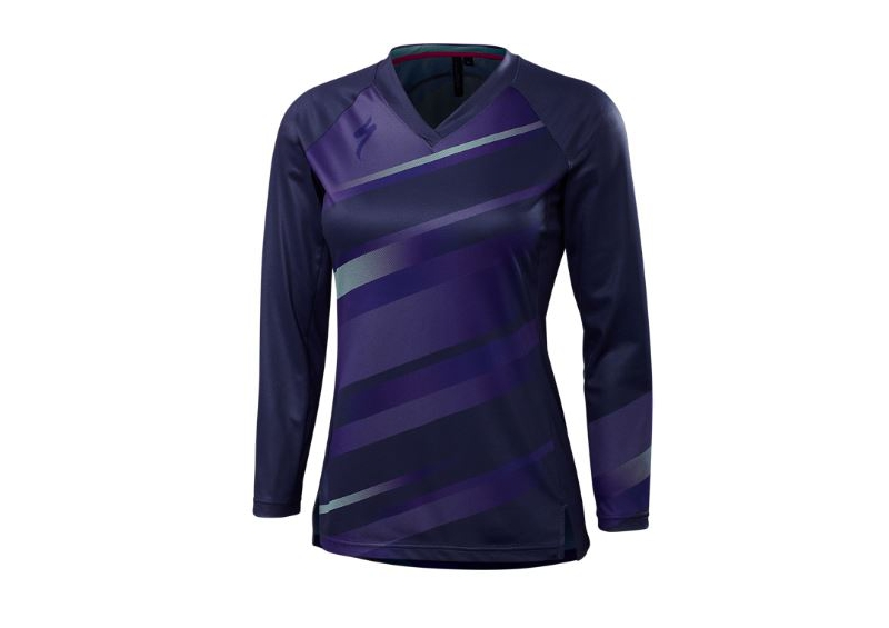 SPECIALIZED MAILLOT MANCHES LONGUES ANDORRA COMP FEMME 2018