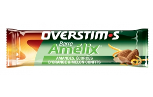 OVERSTIM'S Barre énergétique Amelix