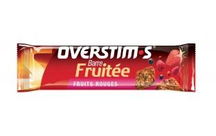OVERSTIM'S Barre fruitée fruits rouges