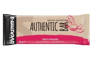 OVERSTIM'S Barre énergétique Authentic Bar - Fruits rouges