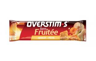 Barre énergétique OVERSTIM'S fruitée -pomme abricot pêche-