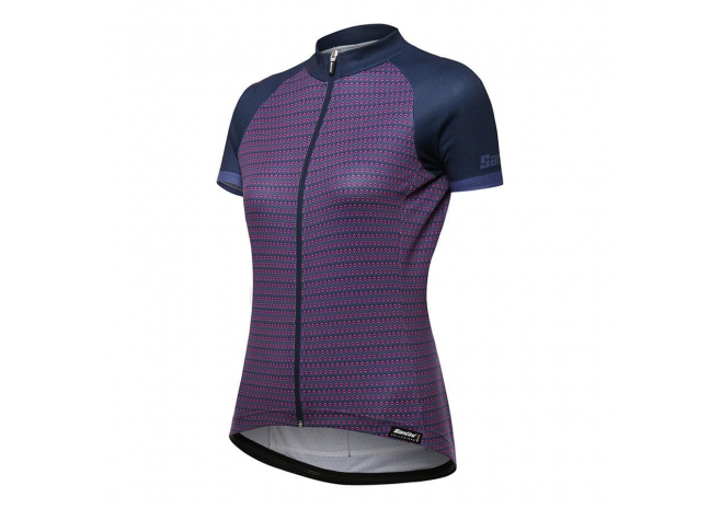 SANTINI MAILLOT MANCHES COURTES RITMO FEMME 2019