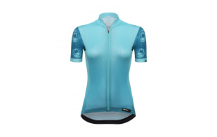 SANTINI MAILLOT MANCHES COURTES VOLO LADY 2019