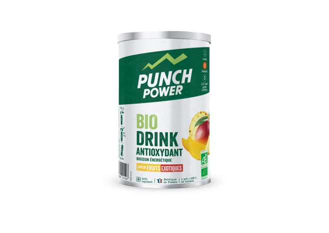 PUNCH POWER BIODRINK ANTIOXYDANT FRUITS EXOTIQUES 500g