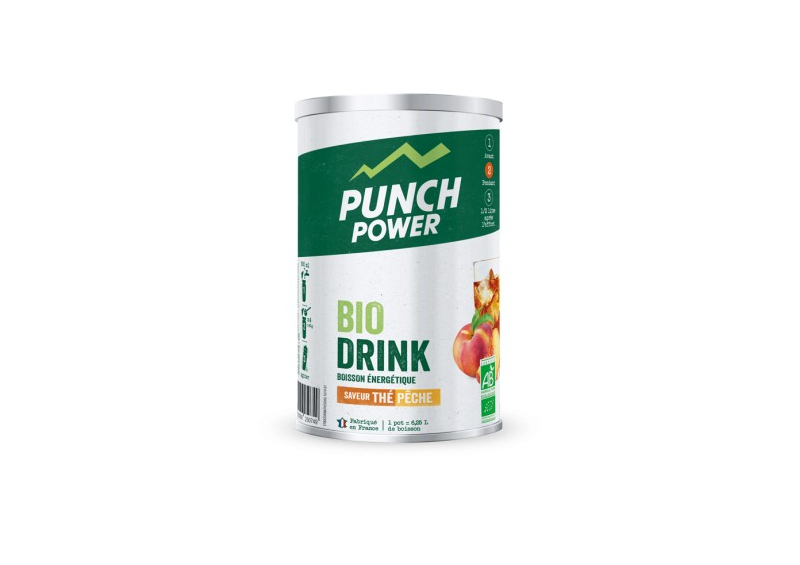 PUNCH POWER Boisson énergétique BiO drink fruits rouges (500g)