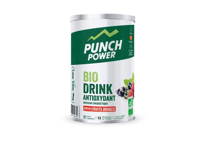 PUNCH POWER Boisson BioDrink Antioxydant Fruits rouges (500g)