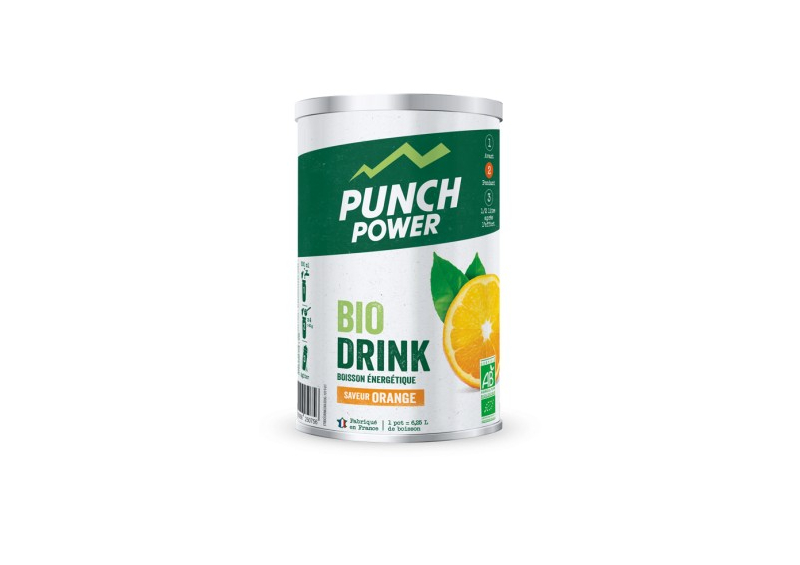 PUNCH POWER Boisson Biodrink Orange (500g)