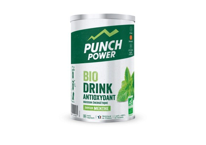 PUNCH POWER Boisson Biodrink Antioxydant menthe (500g)