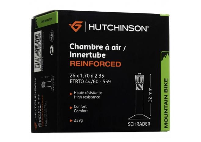 HUTCHINSON Chambre à air Renforcé 26 x 1,70 à 2,35 (Schrader)
