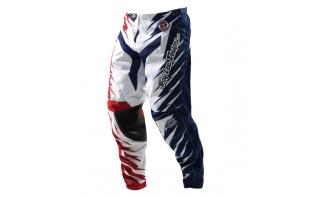 Pantalon Troy Lee Design GP Shocker - rouge/blanc/bleu 2012