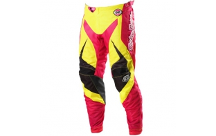 Pantalon Troy Lee Design Gp Air Mirage Jaune/Rose - 2013