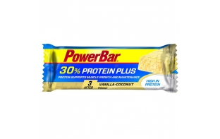 Barre proteinPlus Powerbar vanille coco