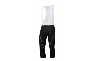 SPORTFUL - Corsaire à bretelles Giro Thermal 2013 - Noir/Blanc