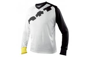 maillot mavic vtt notch graphic blanc