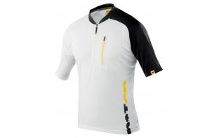 Mavic maillot vtt manches courtes Notch graphic 2013 - blanc