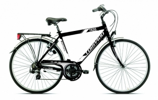 Torpado vélo ville Partner 21v - blanc noir