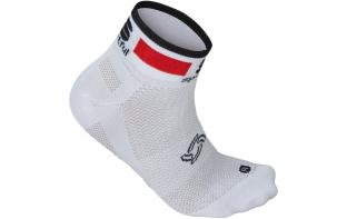 SPORTFUL - Socquette cycliste Tour 3 2013 - blanc/rouge