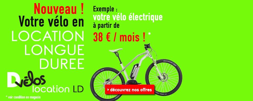 Location Longue Durée de vélos